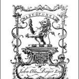 JOHN OTTO-BAIJER BOOKPLATE