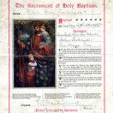 NORAH MAY PANKHURST - BAPTISM 1925