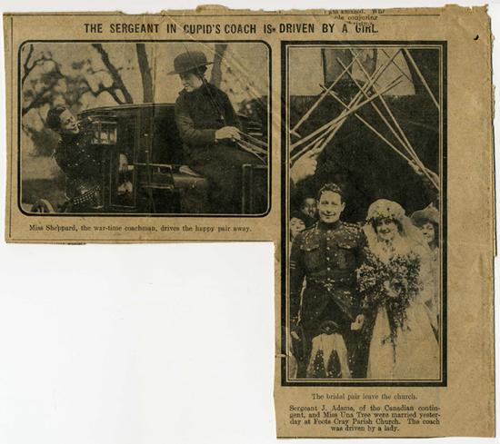 ULUNDI TREE/ ADAMS WEDDING 1916