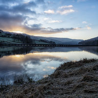Sunrise at Ladybower
