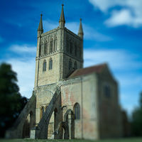 Mini Pershore abbey