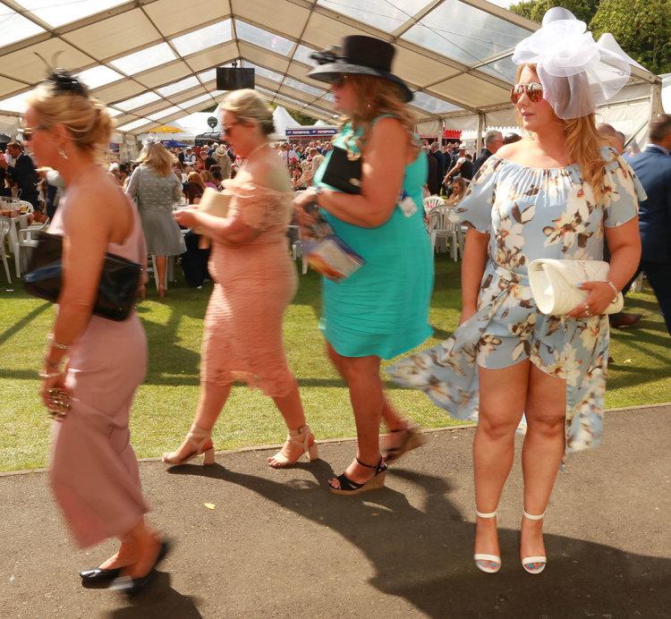 Newcastle Racecourse (ladies day)