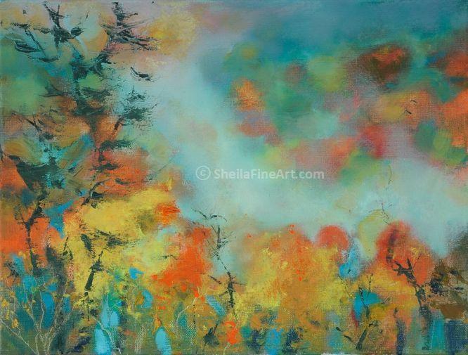 Autumn Mist in the Valley