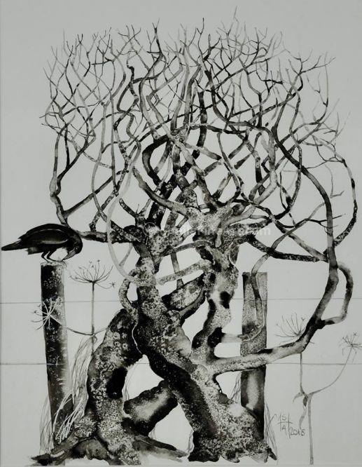Crow Post 3