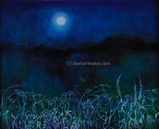 Hoarfrost & Full Moon