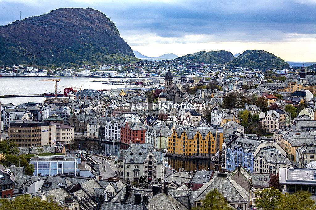 4057-Alesund panoramic view