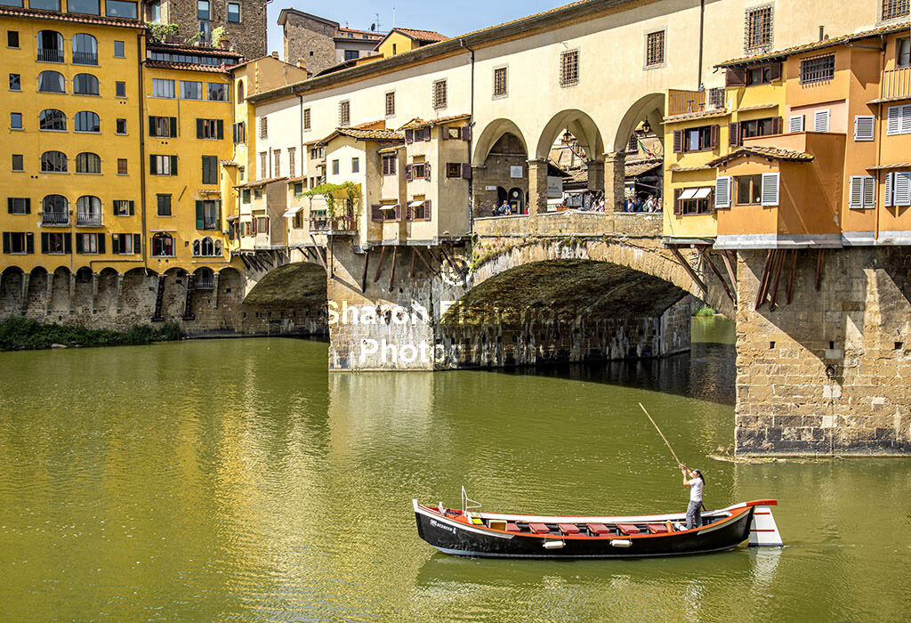 4141-Florence Ponte Vecchio view from river