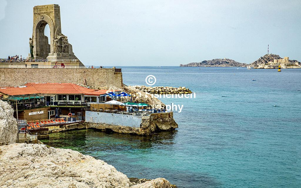 4153-Marseille Porte de l'Orient & Chateau d'If Count Monte Cristo