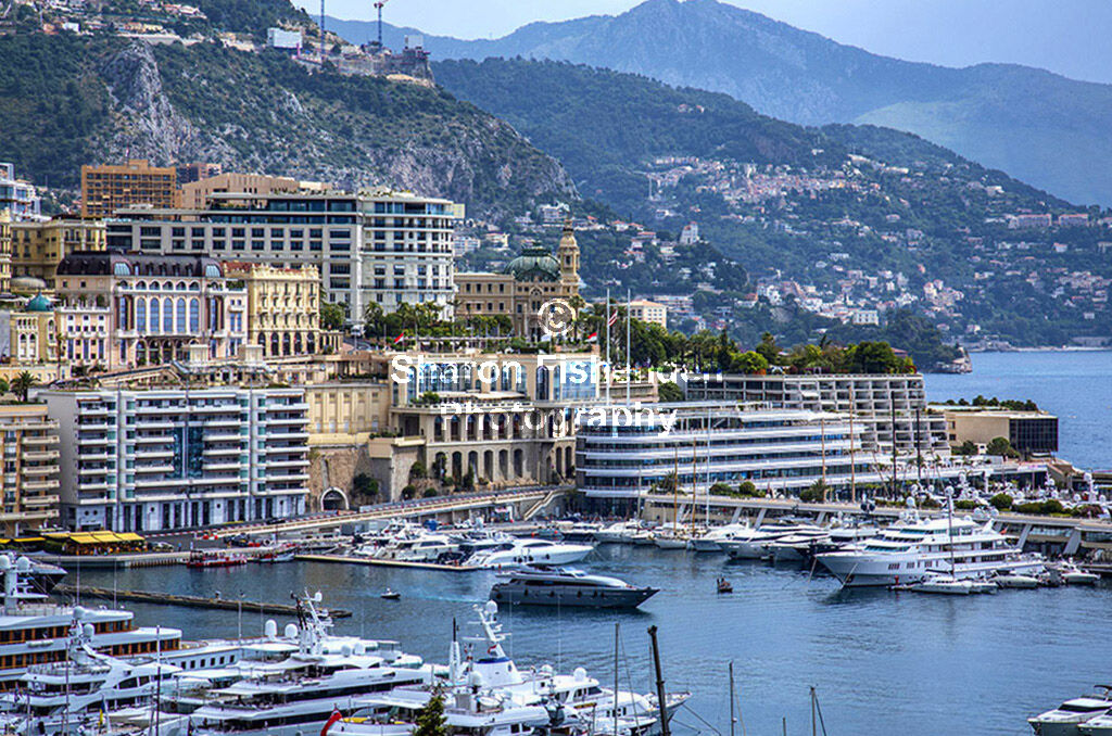 4157-Monte Carlo harbour casino background