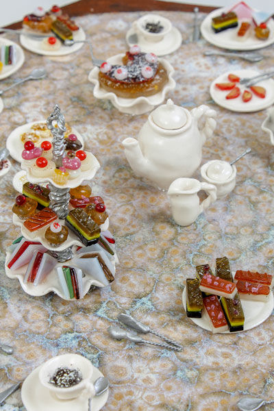High Tea close up table
