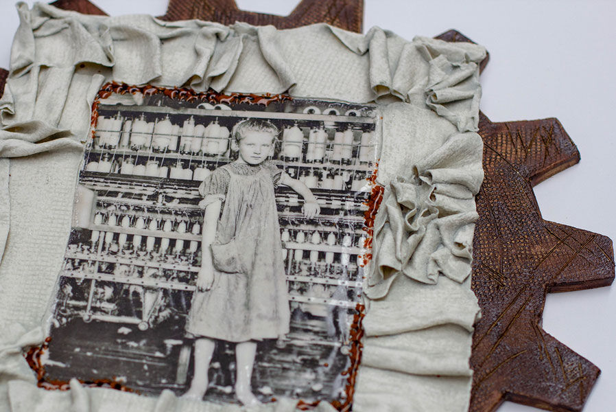 Child labour (close up) 'Cogs in the System'