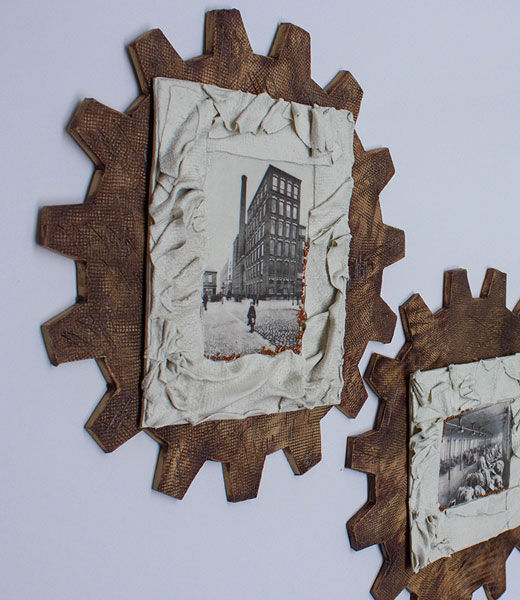 Linen Mill (close up) 'Cogs in the System'