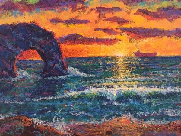 Dorset Coast - Sunrise