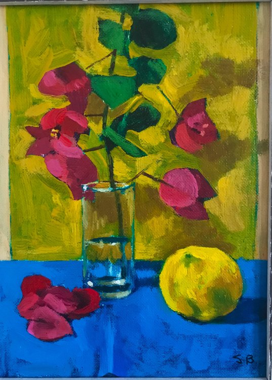 Bougainville with Lemon