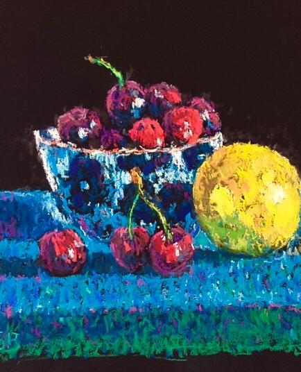 Cherries with Lemon