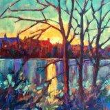 Late November Sunset - Radipole Lake - Weymouth