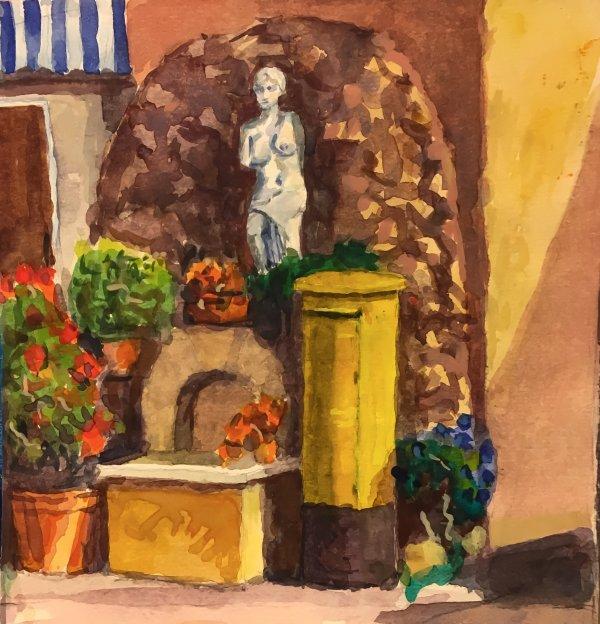 Post Box with Venus - Neo Chorio - Cyprus