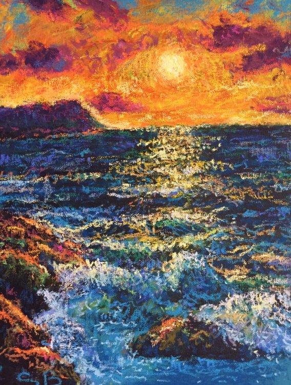 Akamas Sunset - Cyprus