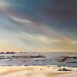 """Little Rock - Summer"" - Oils. Recent commission"