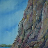 North from Corbiere - oils