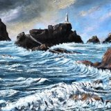 Winter Westerly - Acrylics