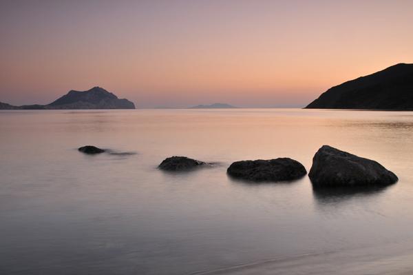 Aegiali Rocks