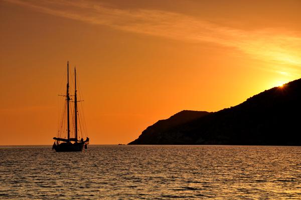 Kamares Sunset