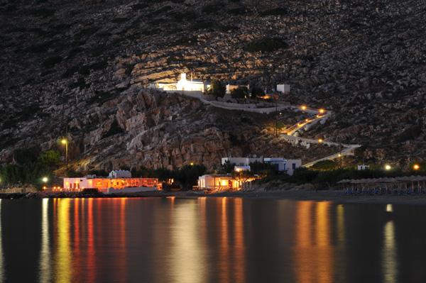 Agia Marina By Night