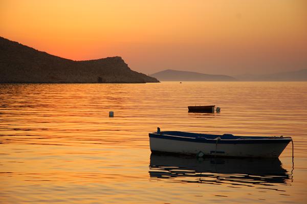 Sunrise from Halki Island