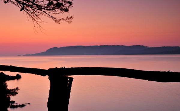 Dawn over Skiathos