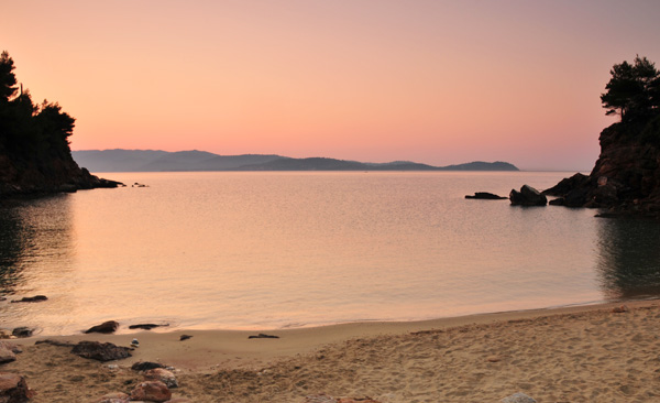 Dawn at the Cove