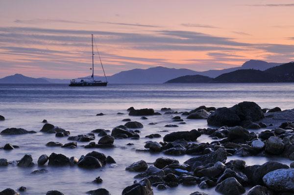 Fourni Island Sunset
