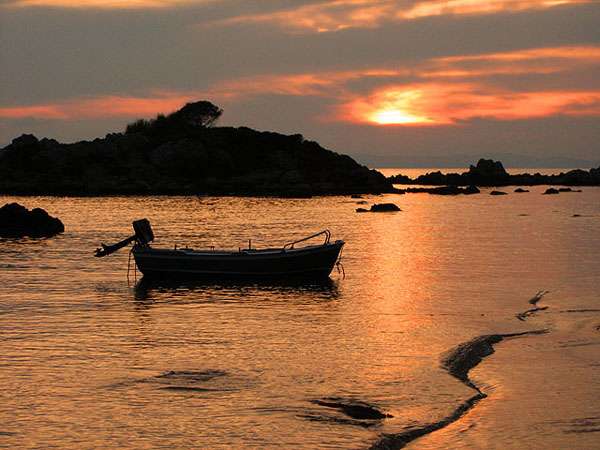 Stoupa Sunset