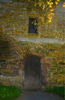 Worthen Church side door