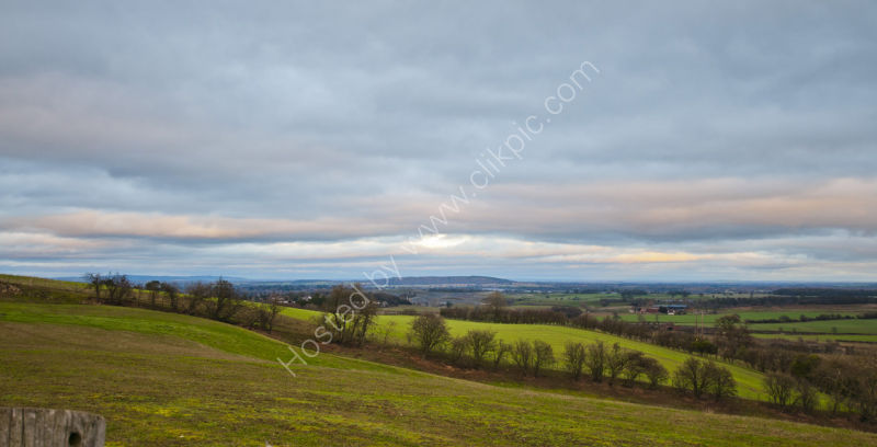 View from Lyth Hill, Shropshire, UK