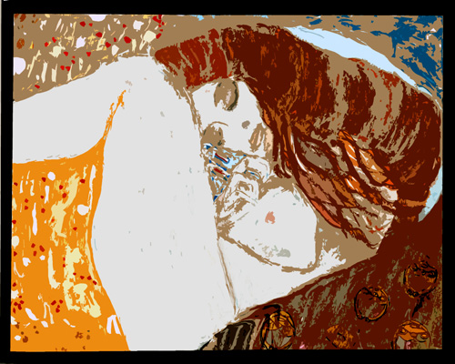 Danae [after Klimt]