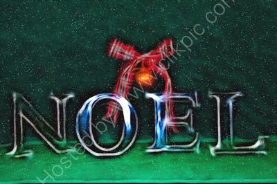 Noel with snow