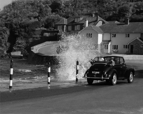 A Wave Hits Morris Minor