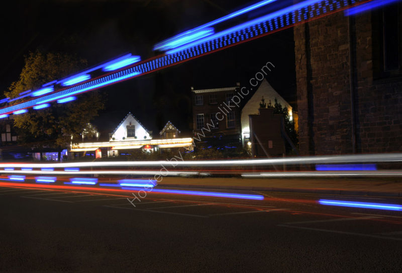 The bright lights of Abbey Foregate