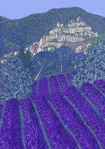 Lavender at Simiane