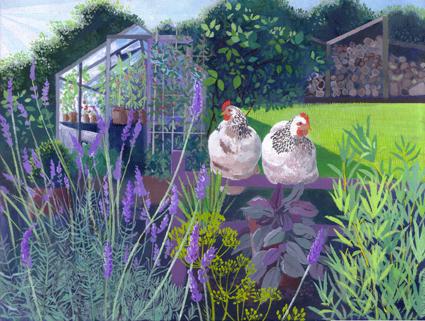 Summer Morning [Hens]