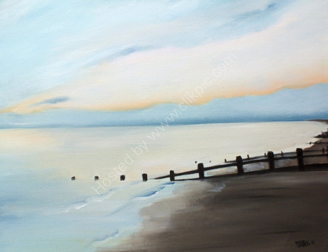 """Ferring beach on a winter afternoon. 2"""