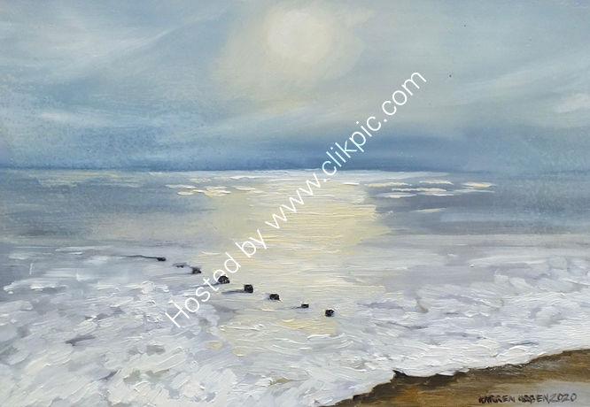 Ferring beach.West Sussex