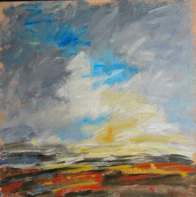 Apricity/ Warmed by the Winter Sun 70x70x4