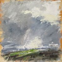 March - A Break in the Weather 70x70cm Acrylic