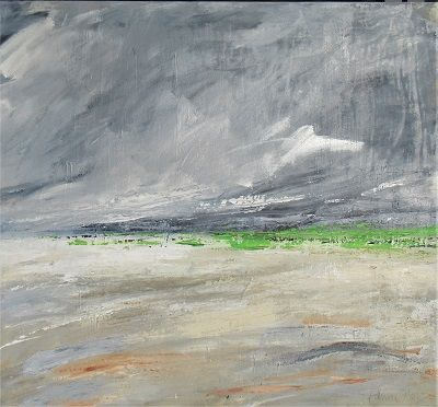 Green Green Grass 80x80 acrylic