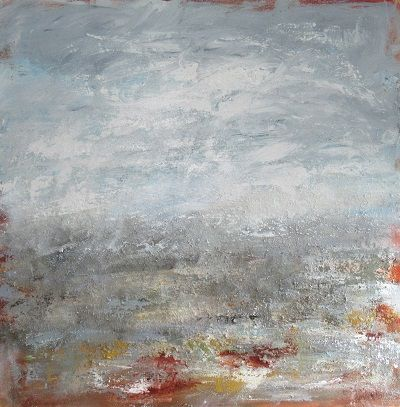 Sky Above Earth Below 90x90x4 cm
