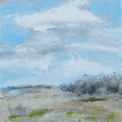 A Beautiful Day- December 50x50cm.