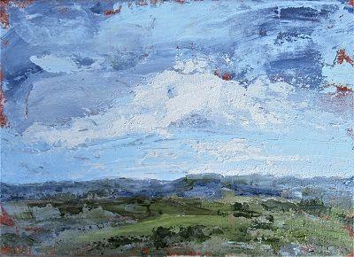 Hampshire Landscape 29x41x1cm.