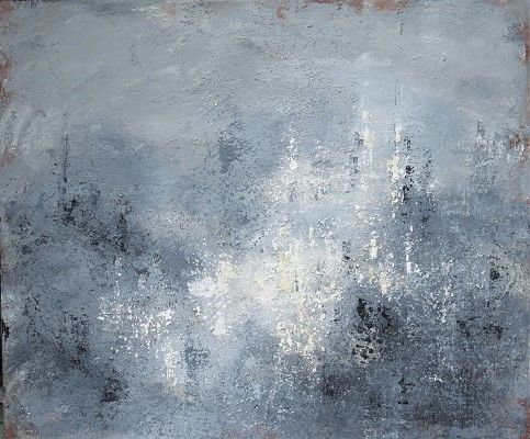 Reflections in the Fog 50x60x4cm.